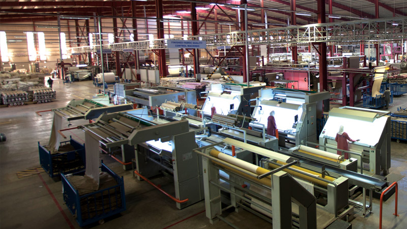 Dyeing - Printing - Finishing Factory